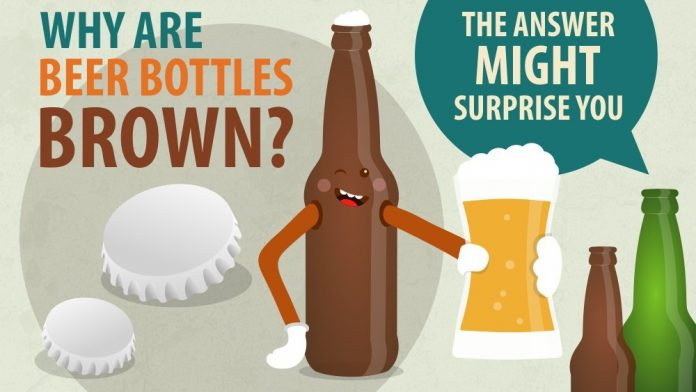 Why are beer bottles only green and brown